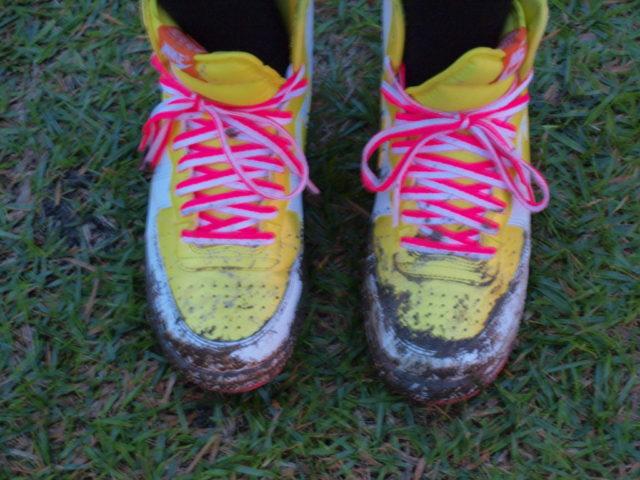 捨ててもいい靴で来るという暗黙のルールが存在する