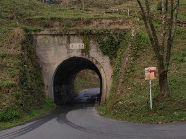 雰囲気バリバリのトンネル
