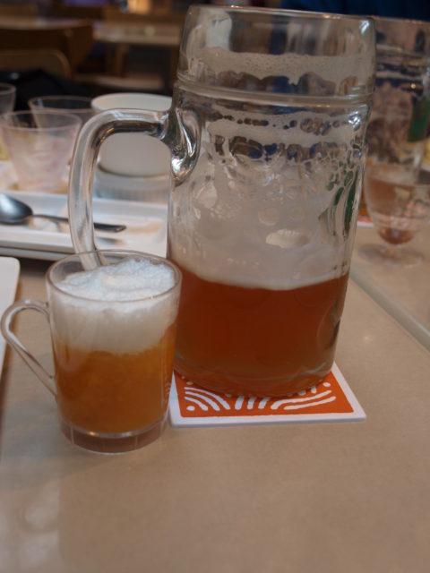 私のお気に入りは、ビールと、ビール風ゼリー