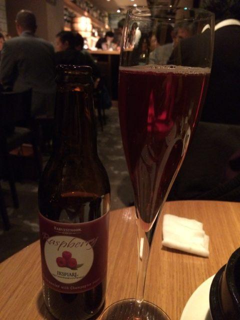 ラズベリーのビール